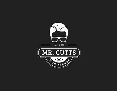 Business Card Design: Mr. Cutts
