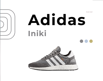 Adidas ⎮Single Product Shopping⎮BM Design