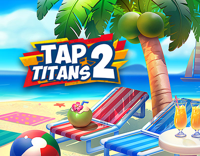 Backgrounds for Tap Titans 2