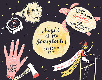 poster/flyer Night of the Storyteller