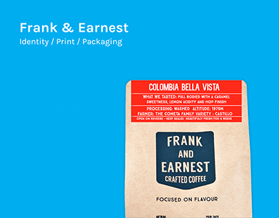 Frank & Earnest Crafted Coffee