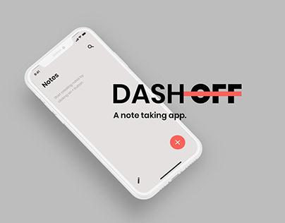 Dash Off Note Taking App