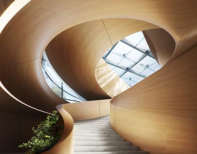 Snail (Private Villa, Dubai. Tariq Khayyat DP)