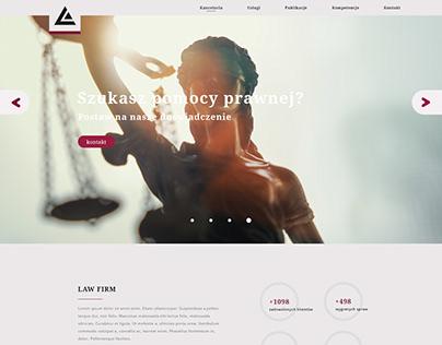 Lagel, law firm webiste