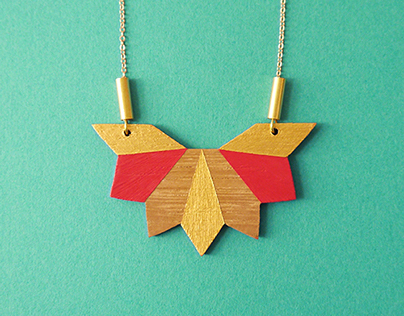 Wooden jewelry 2