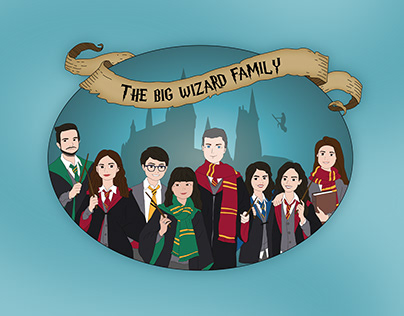 The Big Wizard Family