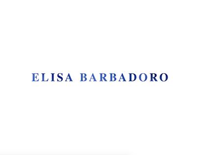 Portfolio Website Elisa Barbadoro
