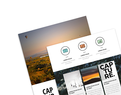 Capture Photography Email Templates