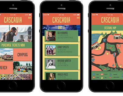 Cascadia Music Festival Campaign