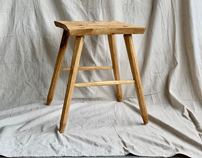 Medium Stool (1.0) - natural