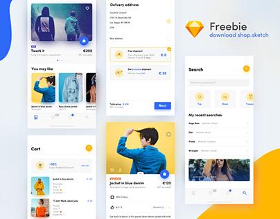 UI shop kit - freebie