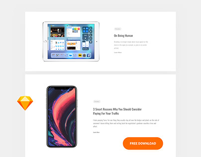 Free Feature UI Kit