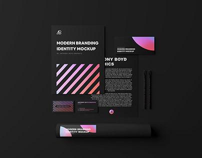 Modern Branding Identity Mockup Vol.4