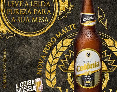 Design Cerveja Colônia