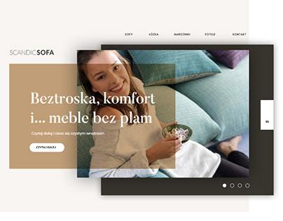 SCANDICSOFA WEBSITE