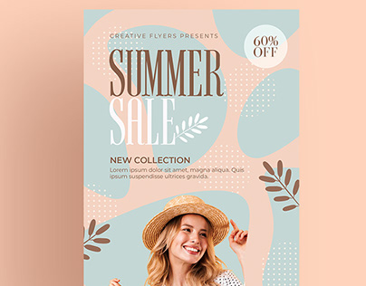 Summer Flyer - Print Template