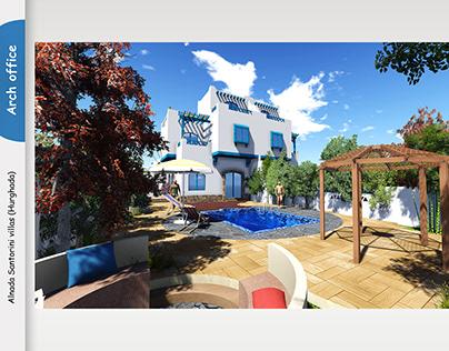 Alnada santorini twin villas project