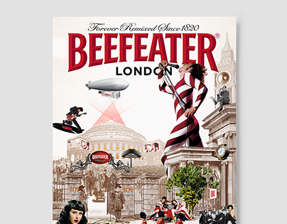BEEFEATER - Forever London