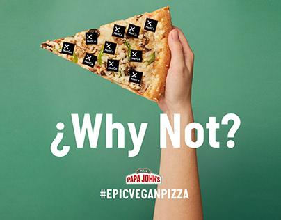 Papa John's_#Epicveganpizza