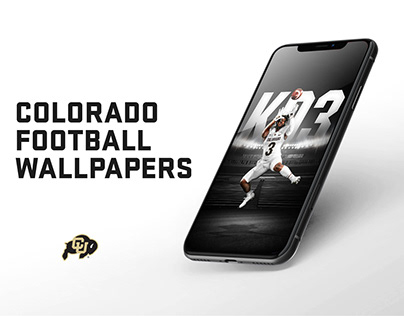 Colorado Football Lock Screens