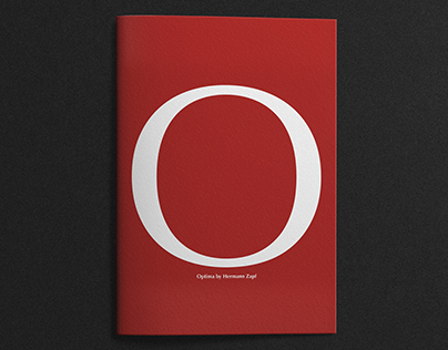 Optima by Hermann Zapf