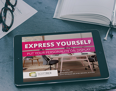Scott Rice Express Yourself Campaign