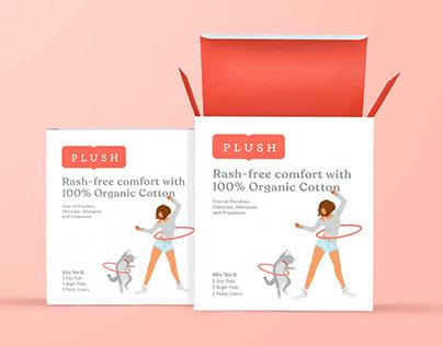 Plush - Brand Identity + Packaging