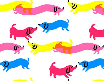 Doggies patterns