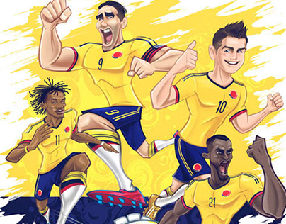 Fuerza Colombia - FANT ART