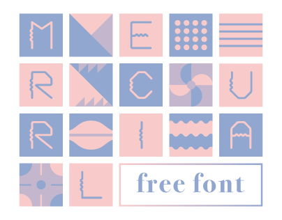MERCURIAL   Free Font