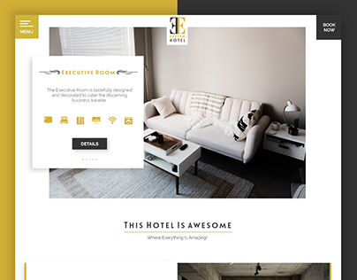 Evelyn Hotels - First Works - Tracy - UI/UX