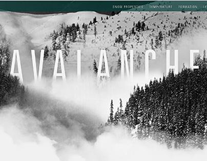 Avalanche - Website Design