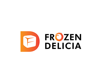 Frozen Delicia Logo Design
