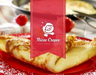 Logo Ricas Crepes