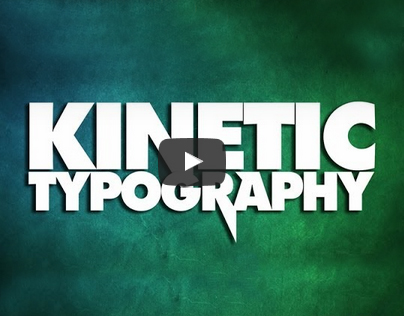 Motion Graphics | Kinetic Typography