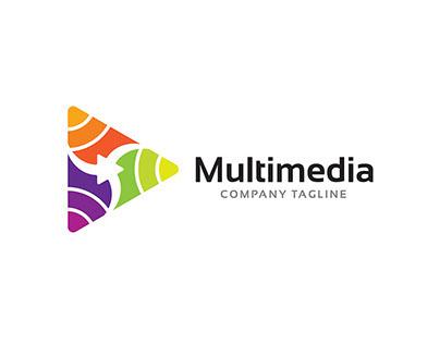 Multimedia Logo Symbol