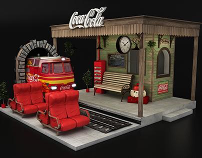 Coca Cola - Taste The Destination activation