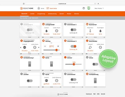 Web & UXDesign - Portal Redesign | rockethome.de