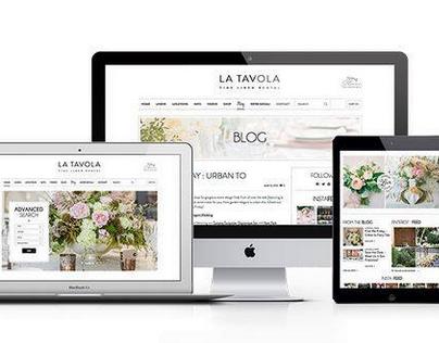 La Tavola Website