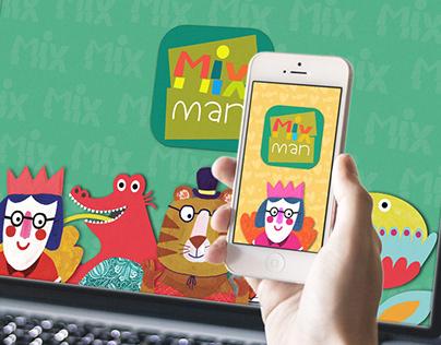 MIX MAN iPad App