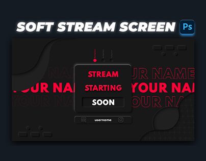 How to make Soft Stream Starting Soon screen