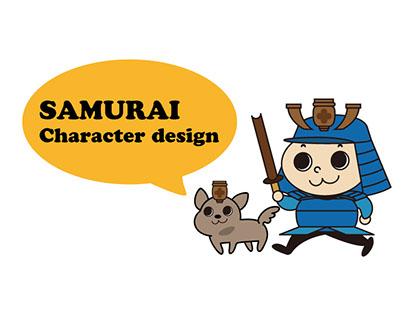 SMURAI Character design