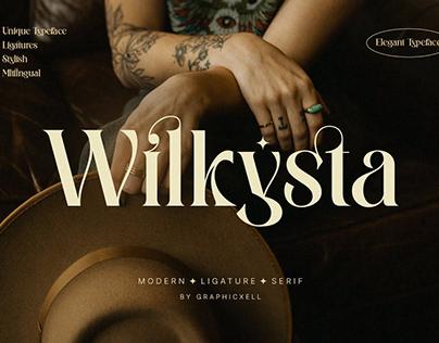 Wilkista - Ligature Typeface