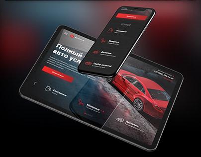 Autolife Car Service Website