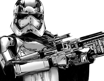 Star Wars: The Force Awakens Style Guide Illustrations