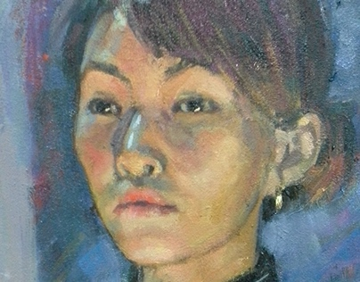 Traditional painting portraits