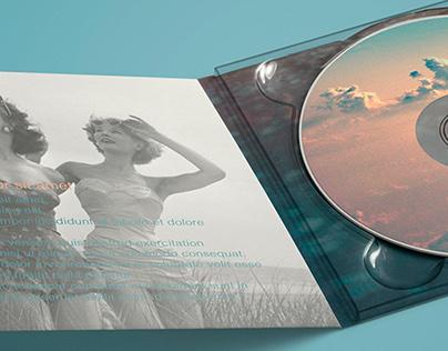 Jump - CD case design.