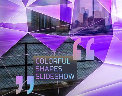 Colorful Shapes Slideshow