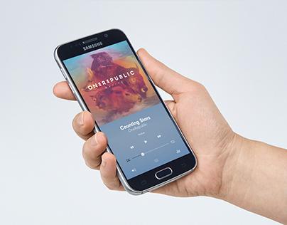 Quiet Music | UI App Design Concept