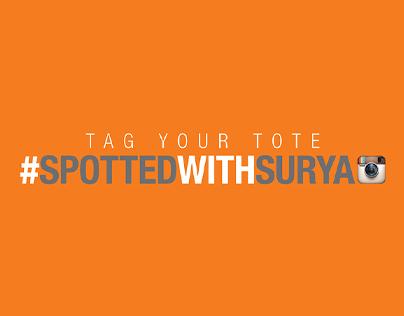 #spottedwithsurya